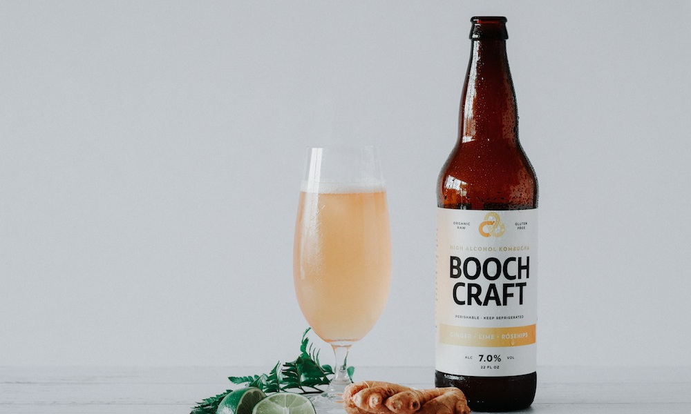 Boozy Kombucha is the Trendy New Drink You Didn't Know You Needed