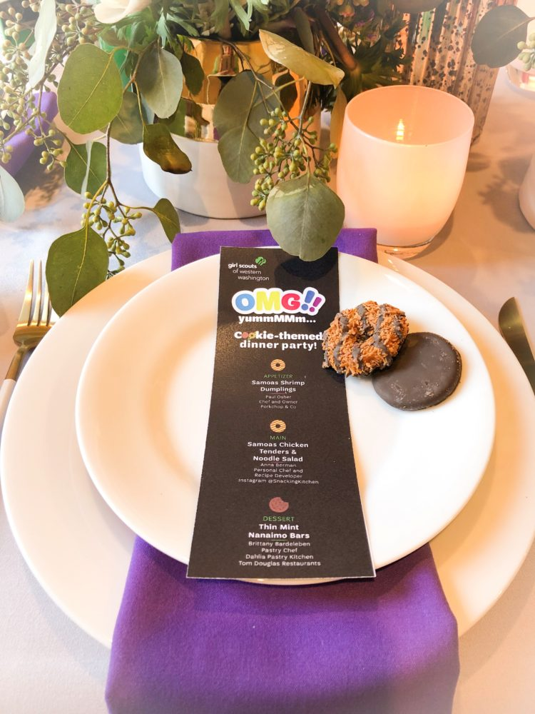 3-Course Girl Scout Cookie Dinner Party