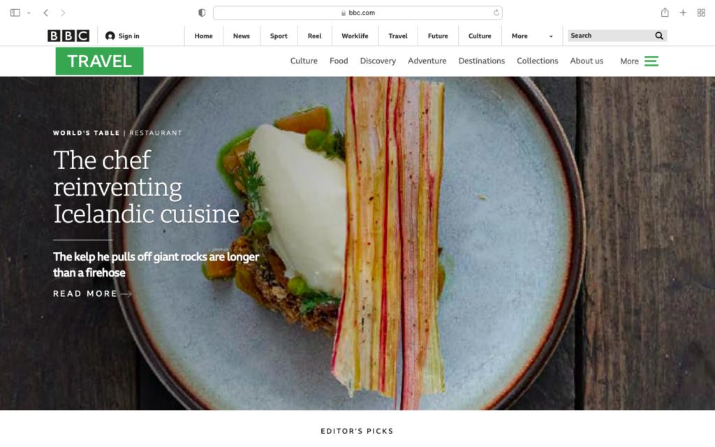 The Chef Reinventing Icelandic Cuisine
